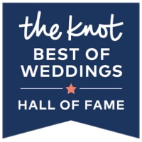The Knot 'Best of Weddings' Hall of Fame.